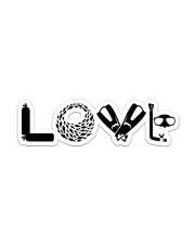 Love Scuba Diving Sticker - Single (Horizontal) front