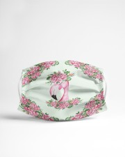 Flamingo Floral Cloth face mask aos-face-mask-lifestyle-22