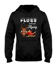 Floss Before Flying Hooded Sweatshirt thumbnail