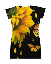 Butterfly And Sunflower All-over Dress back