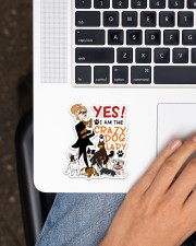 For Dog Lovers Sticker - Single (Vertical) aos-sticker-single-vertical-lifestyle-front-11