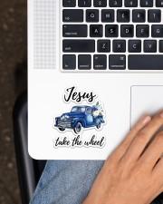 Jesus Take The Wheel Sticker - Single (Vertical) aos-sticker-single-vertical-lifestyle-front-11