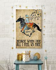 Horse Because When I Ride  11x17 Poster lifestyle-holiday-poster-3