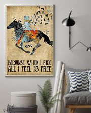 Horse Because When I Ride  11x17 Poster lifestyle-poster-1