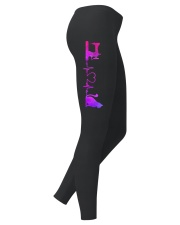 Quilting And Cat Heartbeat Ladies Leggings thumbnail