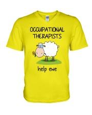 Occupational Therapists Help Ewe V-Neck T-Shirt thumbnail