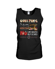 Quilting Is An Addiction Unisex Tank thumbnail