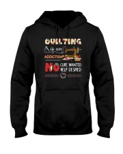 Quilting Is An Addiction Hooded Sweatshirt thumbnail