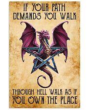 Dragon Walk Through Hell NTV 11x17 Poster front