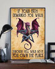 Dragon Walk Through Hell NTV 11x17 Poster lifestyle-poster-2