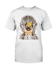 For Pug Lovers Classic T-Shirt front