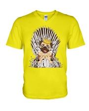 For Pug Lovers V-Neck T-Shirt thumbnail