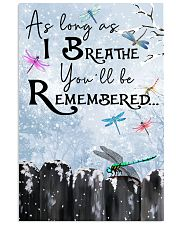 You'll Be Remembered 11x17 Poster front