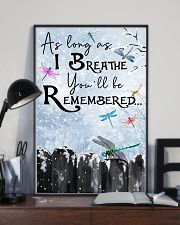 You'll Be Remembered 11x17 Poster lifestyle-poster-2