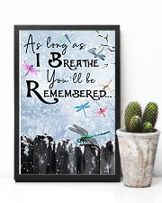You'll Be Remembered 11x17 Poster lifestyle-poster-8