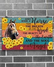 God Made A Horse 17x11 Poster poster-landscape-17x11-lifestyle-18