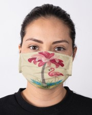 For Flamingo Lovers Cloth face mask aos-face-mask-lifestyle-01