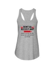 Dental Assistant Ladies Flowy Tank thumbnail