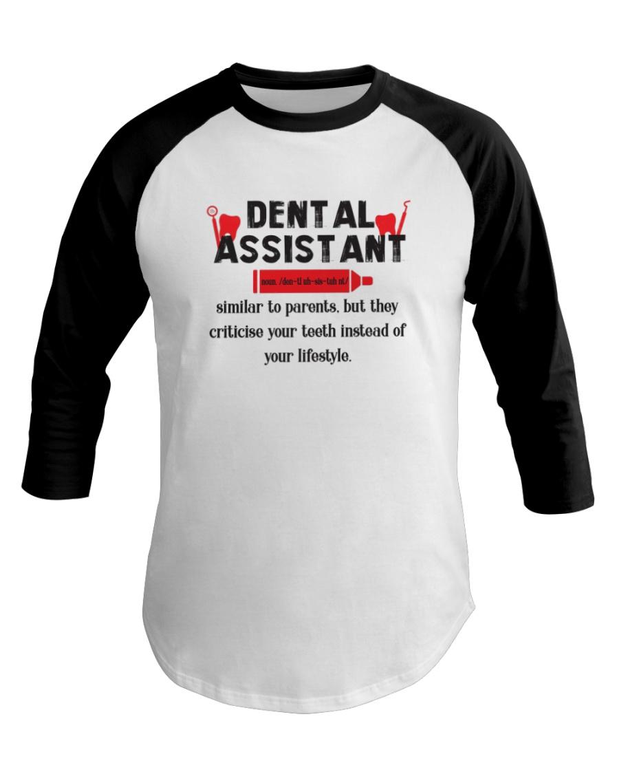 Dental Assistant Baseball Tee