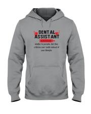 Dental Assistant Hooded Sweatshirt thumbnail
