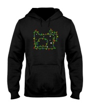 Christmas Gift For Quilters Hooded Sweatshirt front