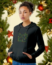 Christmas Gift For Quilters Hooded Sweatshirt lifestyle-holiday-hoodie-front-4
