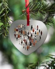 Horse Heart Heart ornament - single (porcelain) aos-heart-ornament-single-porcelain-lifestyles-07