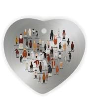 Horse Heart Heart Ornament (Wood) tile