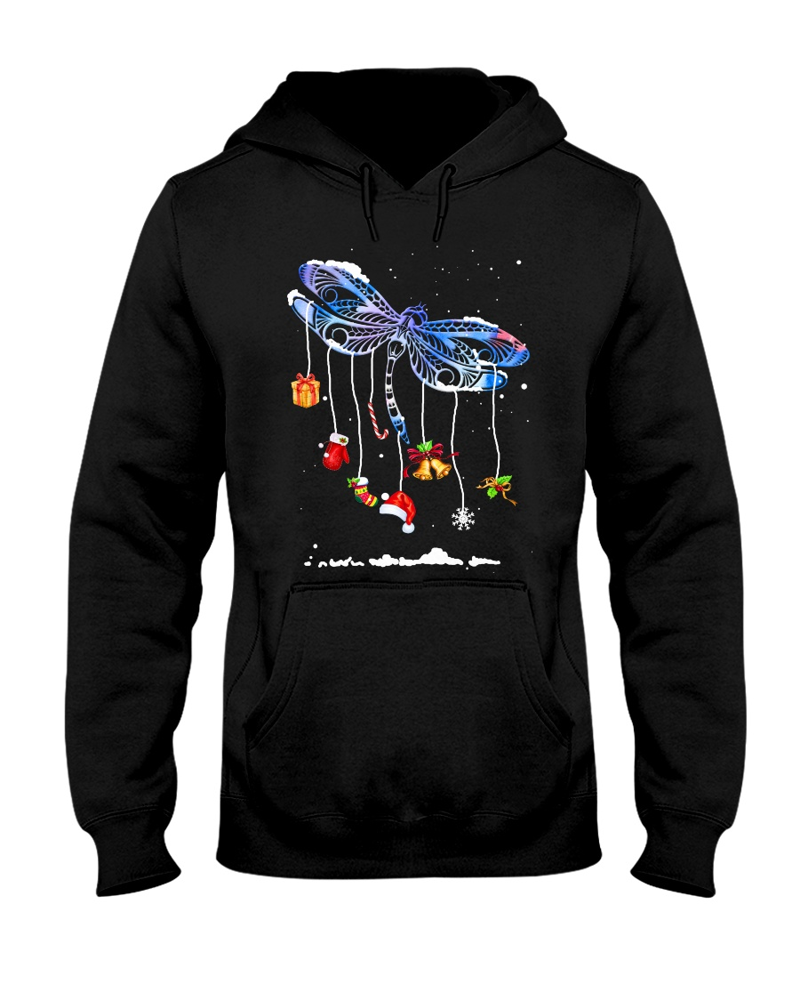 For Dragonfly Lovers Hooded Sweatshirt