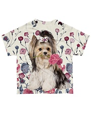 For Yorkie Lovers All-over T-Shirt back