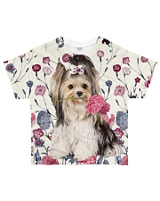 For Yorkie Lovers All-over T-Shirt front