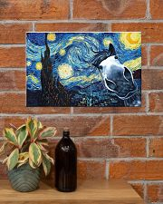 Horse Night 17x11 Poster poster-landscape-17x11-lifestyle-23