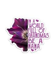 Be A Nana  Sticker - Single (Vertical) front