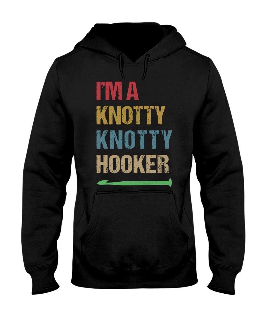 I'm A Knotty Knotty Hooker Hooded Sweatshirt