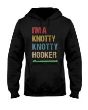 I'm A Knotty Knotty Hooker Hooded Sweatshirt front