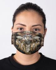 Native Skull Cloth face mask aos-face-mask-lifestyle-01