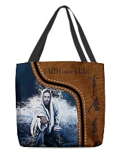 Jesus All-over Tote back