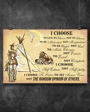 Native I Choose 17x11 Poster poster-landscape-17x11-lifestyle-12