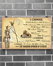 Native I Choose 17x11 Poster poster-landscape-17x11-lifestyle-18