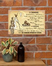 Native I Choose 17x11 Poster poster-landscape-17x11-lifestyle-23