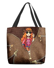 Hippie Girl All-over Tote back