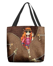 Hippie Girl All-over Tote front