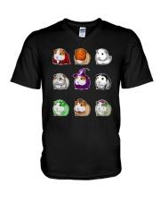 For Guinea Pig Lovers V-Neck T-Shirt thumbnail