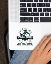 Mamasaurus  Sticker - Single (Vertical) aos-sticker-single-vertical-lifestyle-front-11