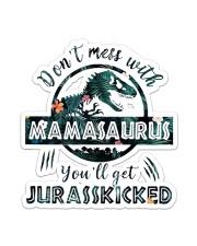 Mamasaurus  Sticker - Single (Vertical) front