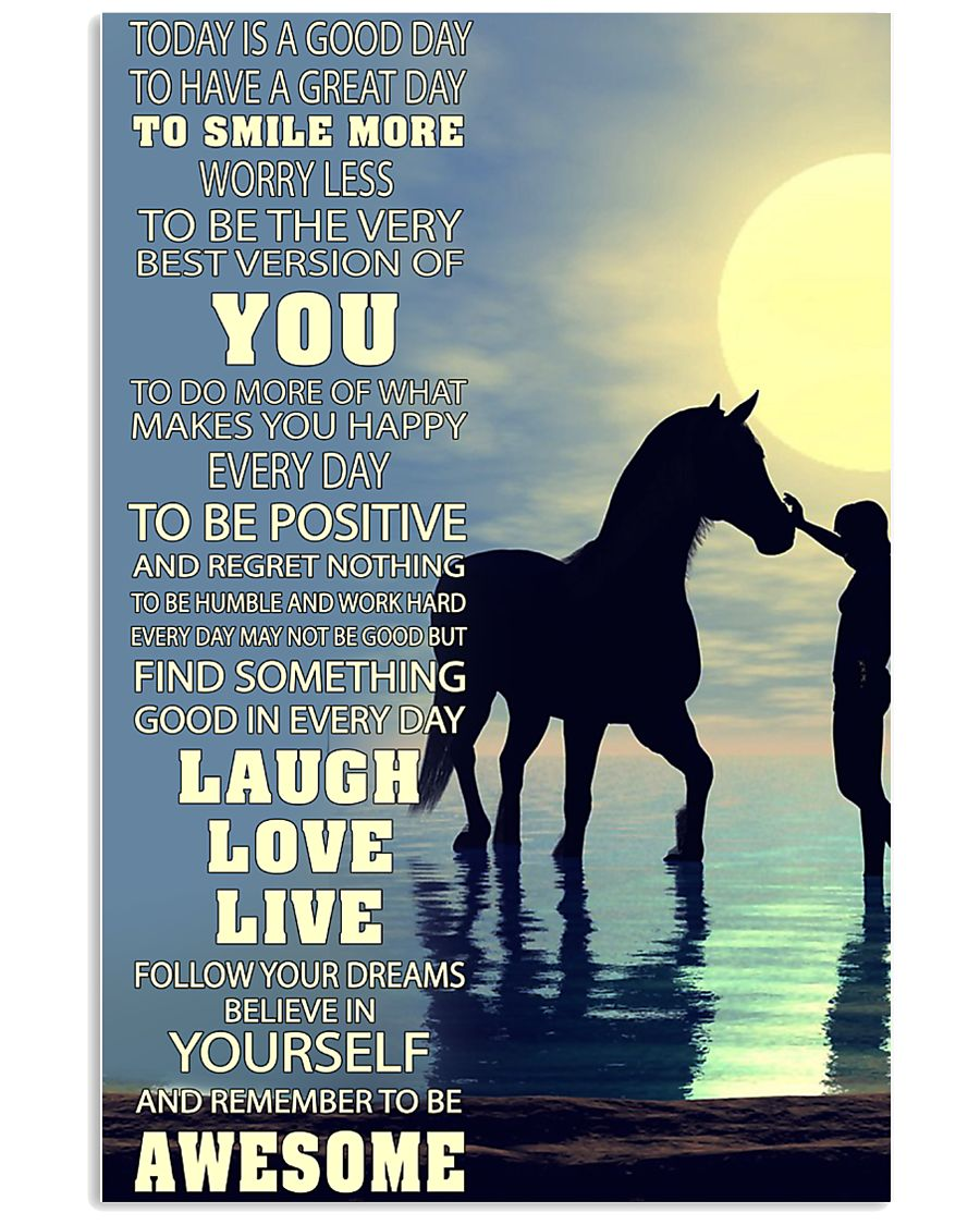 For Horse Lovers 11x17 Poster