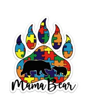 Autism Mama Bear Sticker - Single (Vertical) front