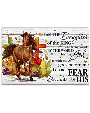 Horse Daughter Of The King  17x11 Poster front