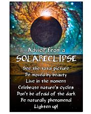 Advice From A Solareclipse 11x17 Poster front