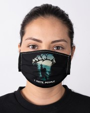 Big Foot Hate People Cloth face mask aos-face-mask-lifestyle-01